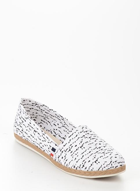 Bambi B0901241004 Beyaz Kadın Günlük Ayakkabı